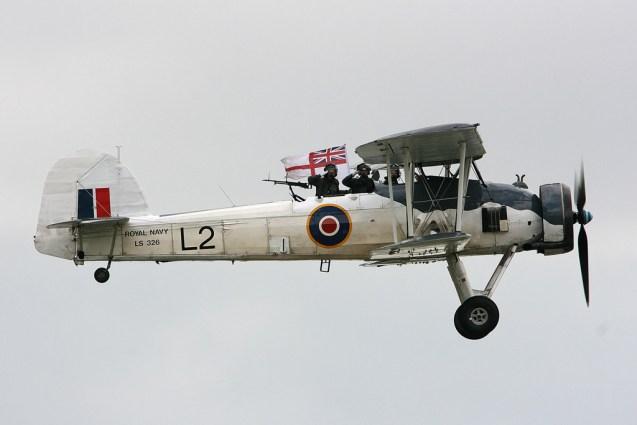 © Mark Graham - Royal Navy Historic Flight • Fairey Swordfish II • RAF Yeovilton, UK