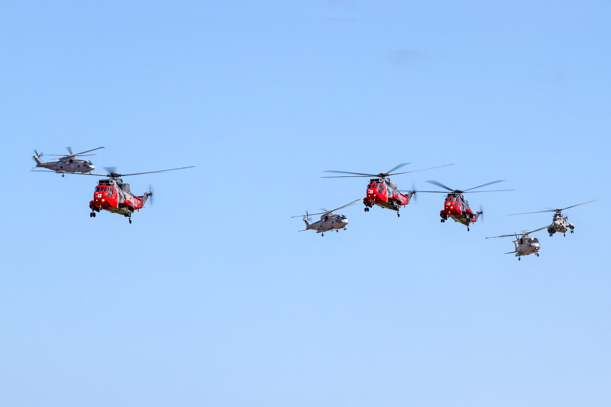 © Ben Montgomery • Culdrose Balbo Formation • RNAS Culdrose Air Day 2015