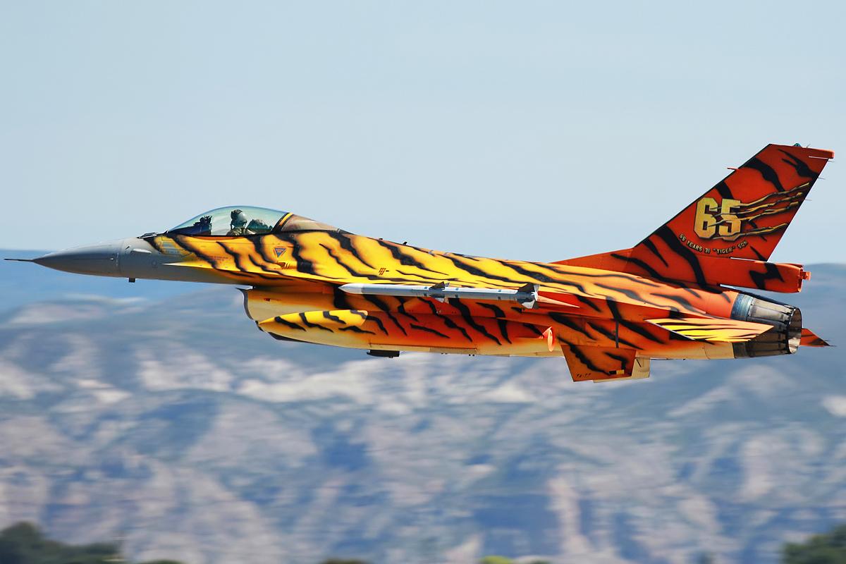 © Mark Kwiatkowski - Belgian Air Component F-16AM FA-77 - NATO Tiger Meet 2016