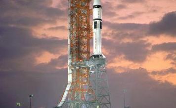 Saturn IB Rocket