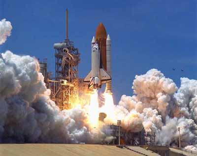 Space Shuttle Launch Picture