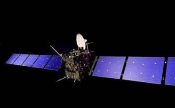 Rosetta Spacecraft Picture