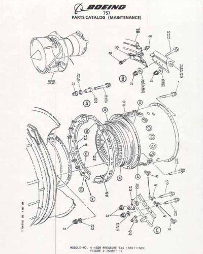 boeing 757 engine diagram
