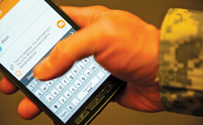 Online Misconduct Texting While Driving Inconsistent With Army Values High Desert Warrior