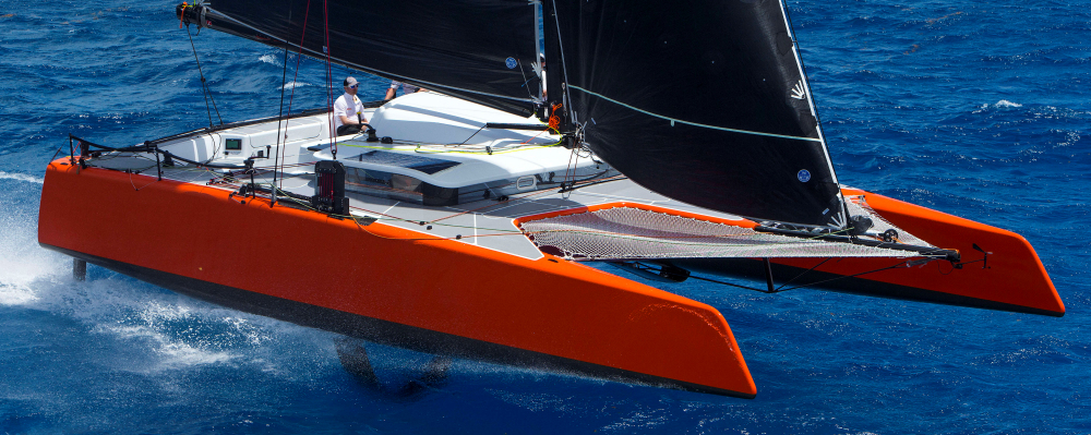 Gunboat G4 catamaran