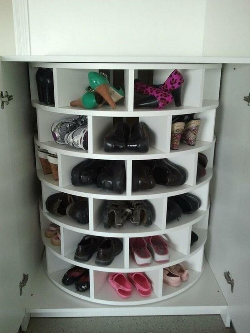 Comment construire un rangement chaussures rotatif soi m me trucs et astuces faire la