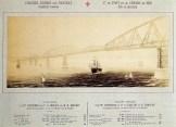 Projet de pont sur la Manche par Schneider et Compagnie et H. Hersent vers 1889
