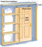 Pocket Door Frame Installation