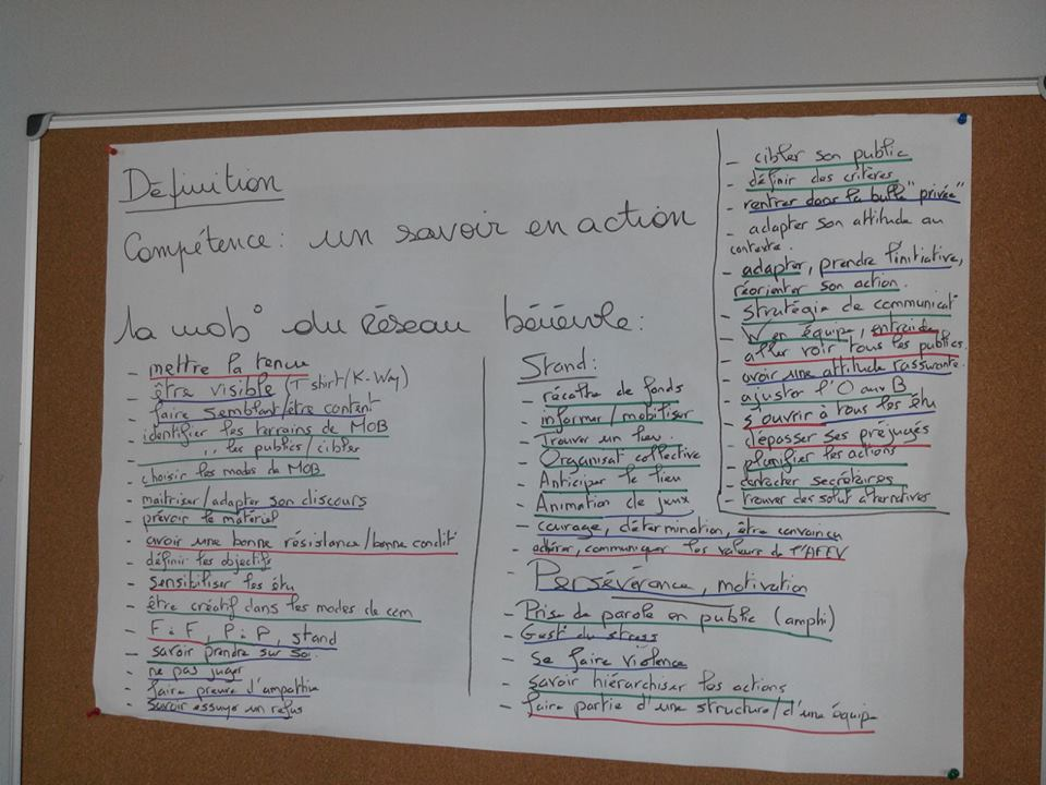 competences cv volontariat