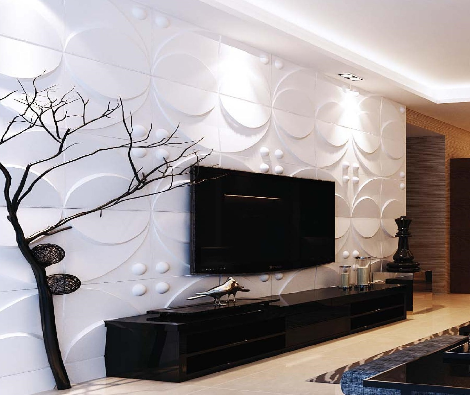 3d Effect Wallpaper For Living Room 3d Windmill Wall Panels 187 Blog Archive 187 Affordable Home