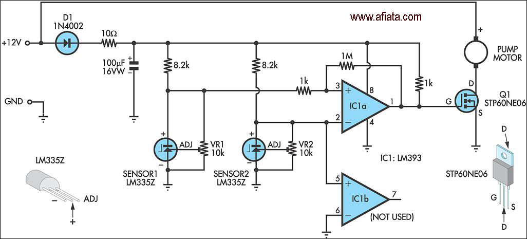 one wire lcd electronic circuits projects