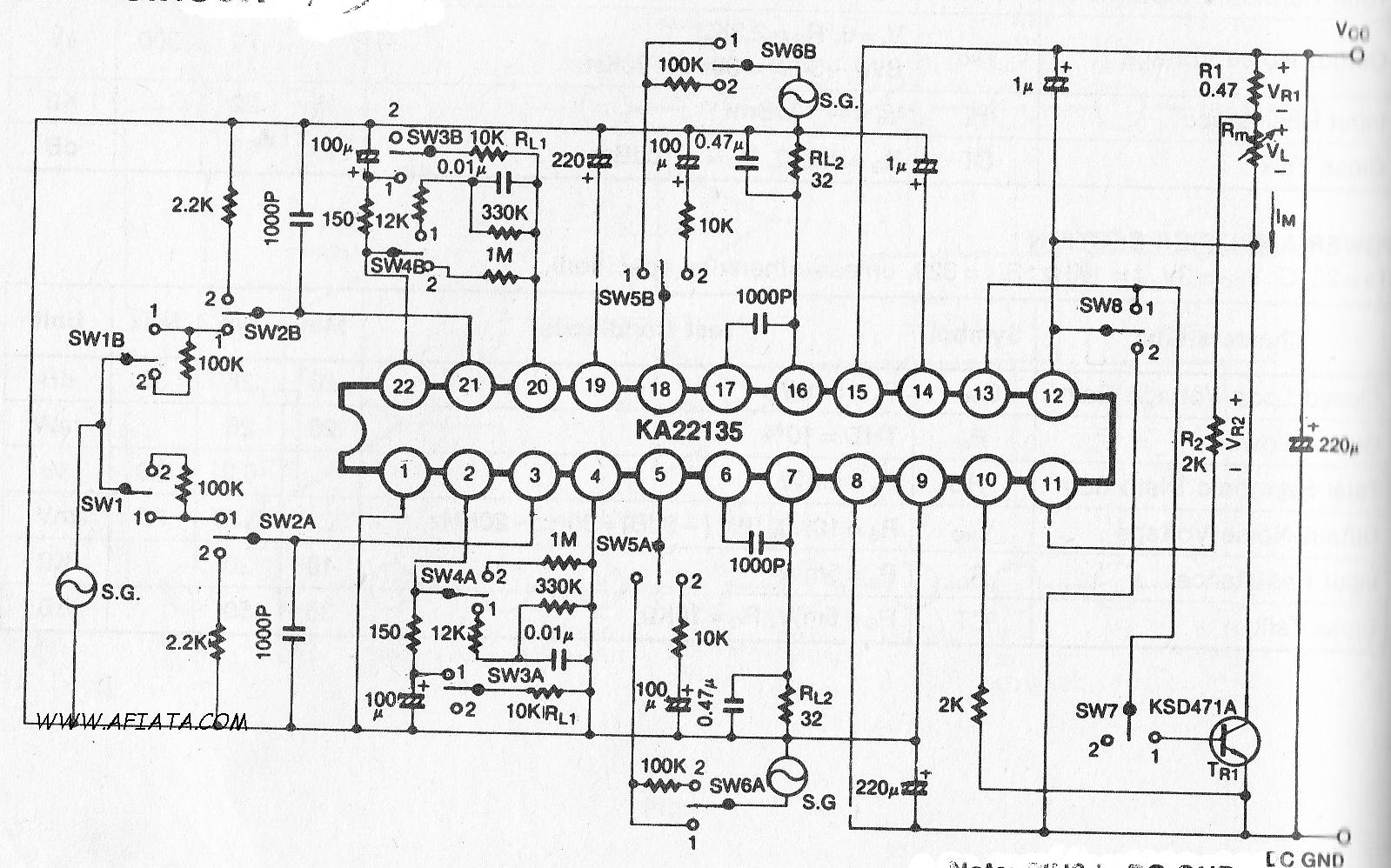 led vu display circuit electronic design