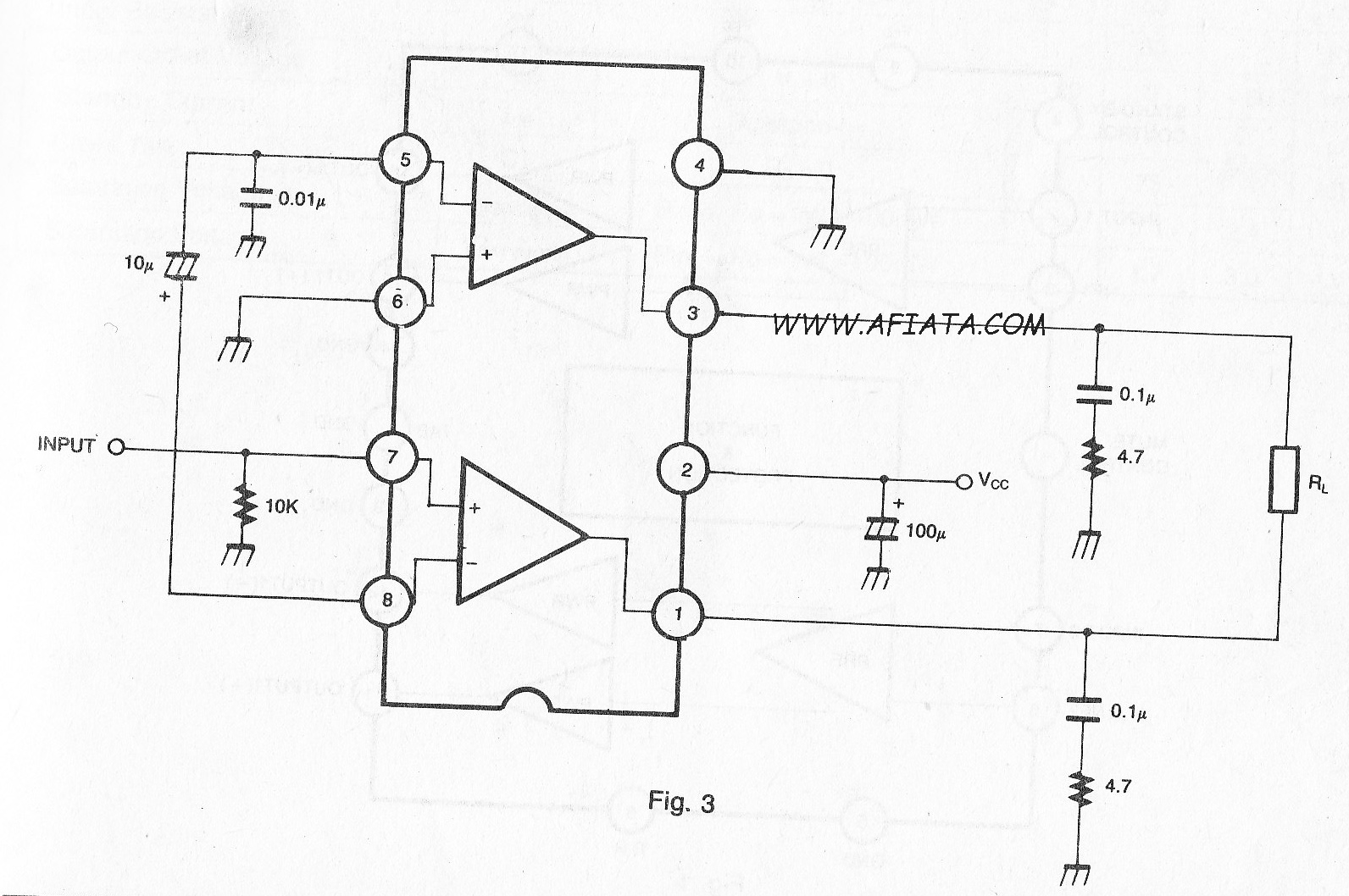 12w audio amplifier circuit using tda1515b