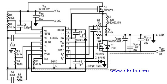 bs2p microcontoller and a gps receiver circuit