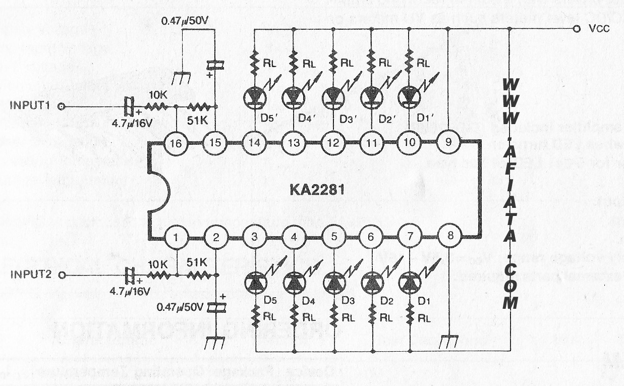 3 band dual graphic equalizer amplifier circuit