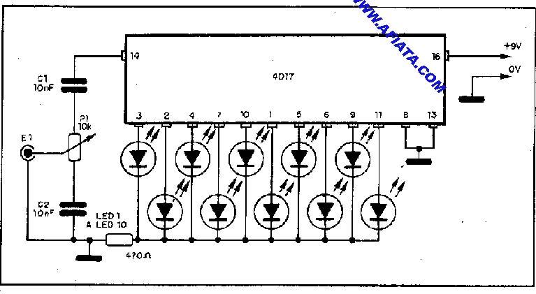 vu meter circuit