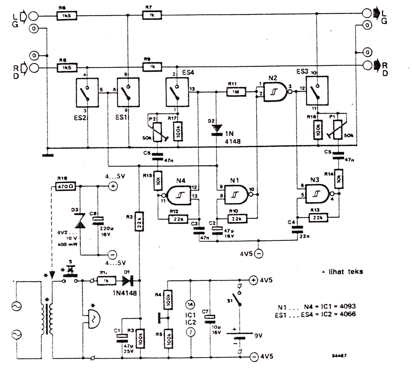 inside the circuits schematics or diagrams so it work many