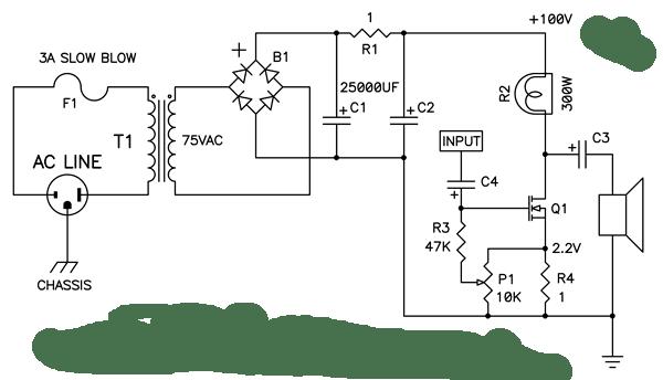 tube amp power transformer tube guitar amplifier analysis