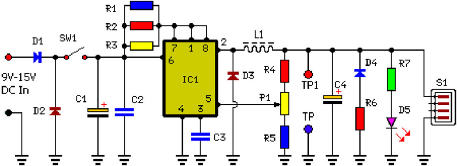 power compo audio circuit using stk0050