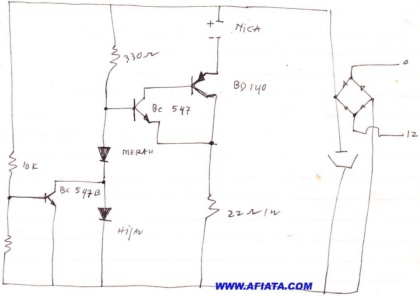 battery charger using lm350 electronic circuits and diagram