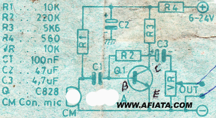 Simple Mic Preamp Circuit Electronic Circuit Diagram and Layout