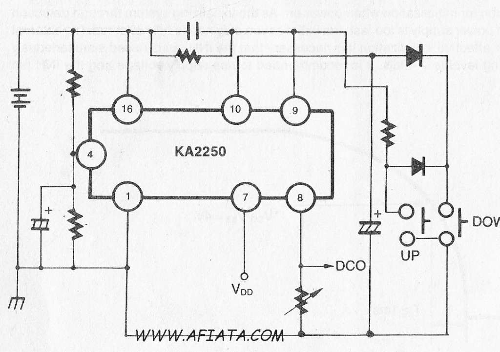 circuit of a digital volume control