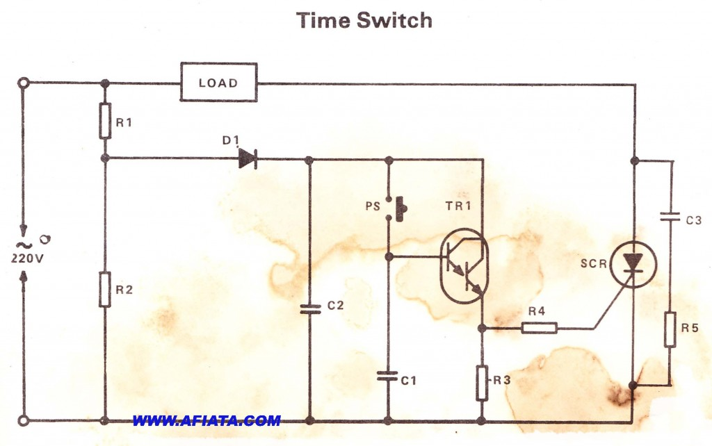 Automatic Transfer Switch Electronic Circuit Diagram and Layout