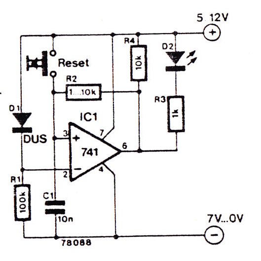 lm3886 schema and layout diagram