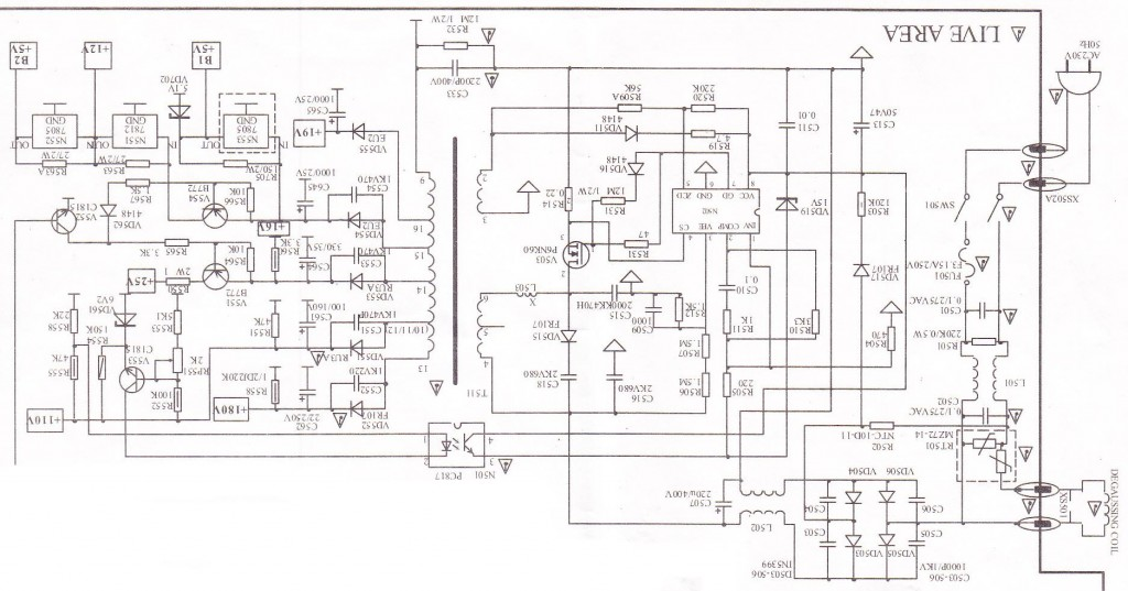 china tv circuit diagram electronic design