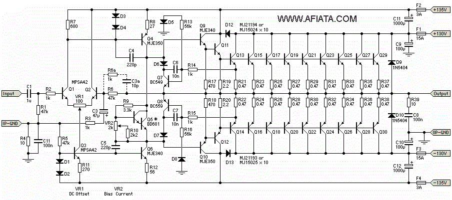 3000w inverter circuit diagram