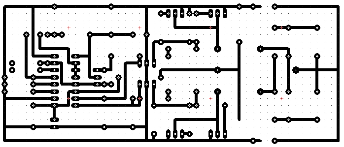 complete schematic diagram of the 12 v 02 a converter