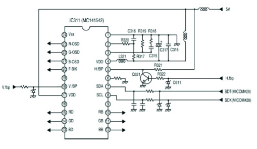 lg tv block diagram
