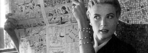 Grace Kelly and comics