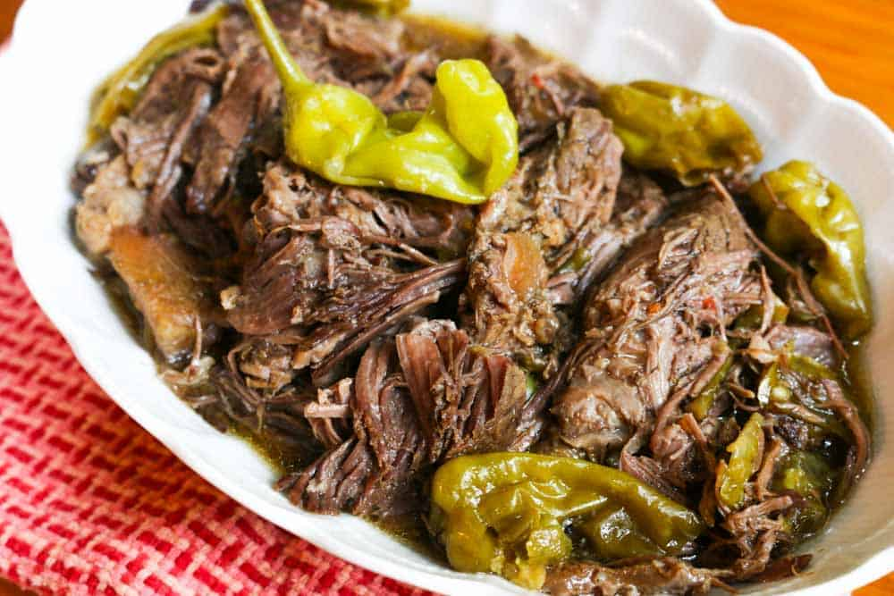 Crockpot Beef And Peppers Recipe