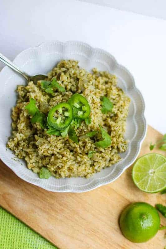 Jalapeño, Cilantro, & Lime Brown Rice