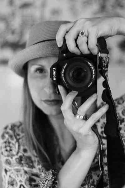 Katie Crenshaw- Voice and Photographer behind the scenes of A Fork's Tale
