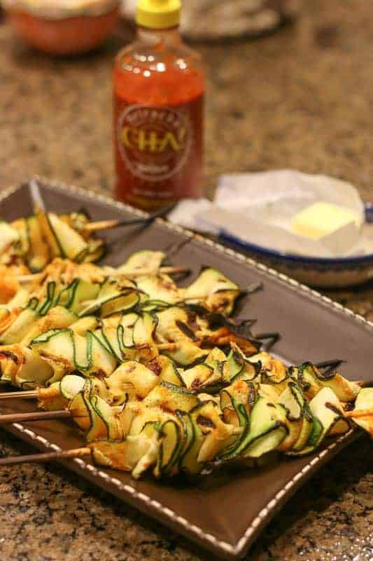 This 3 ingredient Grilled Sriracha Zucchini is low carb, healthy, super easy, and most importantly DELICIOUS!!! Wow your friends with it at your next cookout or add it to your family's meal as a side dish. This is a recipe you will be making again and again.