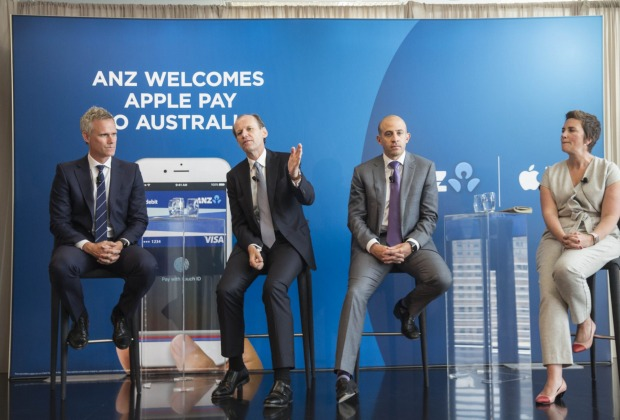 ANZ stole a march on rivals with a deal with Apple for access to Apple Pay.