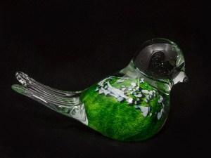Green Glass Bird