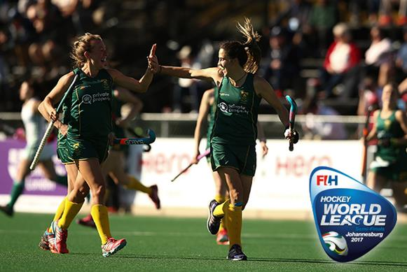 South Africa women achieved World Cup qualification on Day 13 in Johannesburg. Copyright: FIH / Getty Images