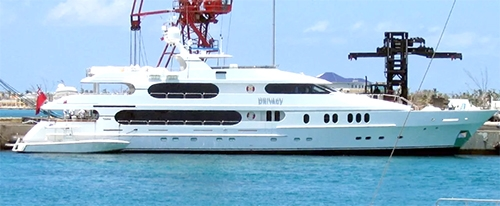 tiger woods yacht us open