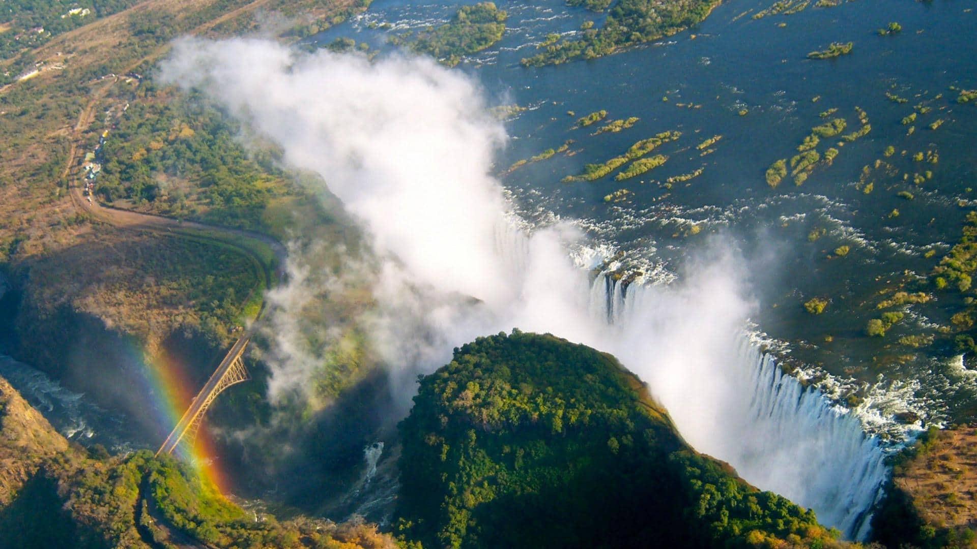 Victoria Falls Hd Wallpaper Victoria Falls Amp Zambian Big Game Safari 10 Days