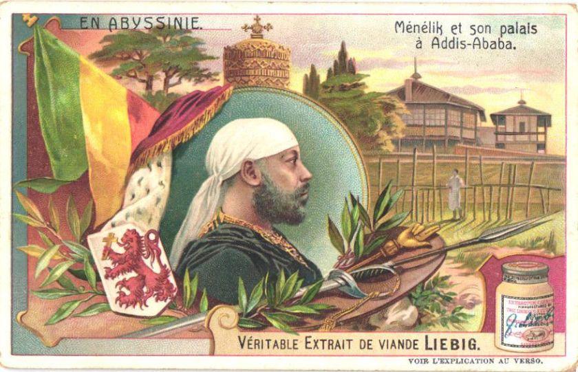Menelik et son palais