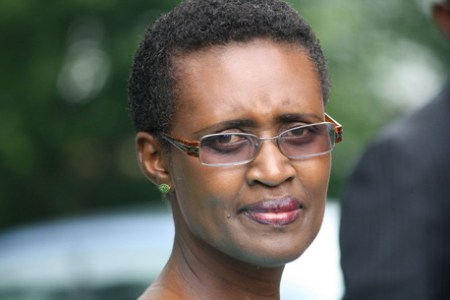 Oxfam International executive director Winnie Byanyima