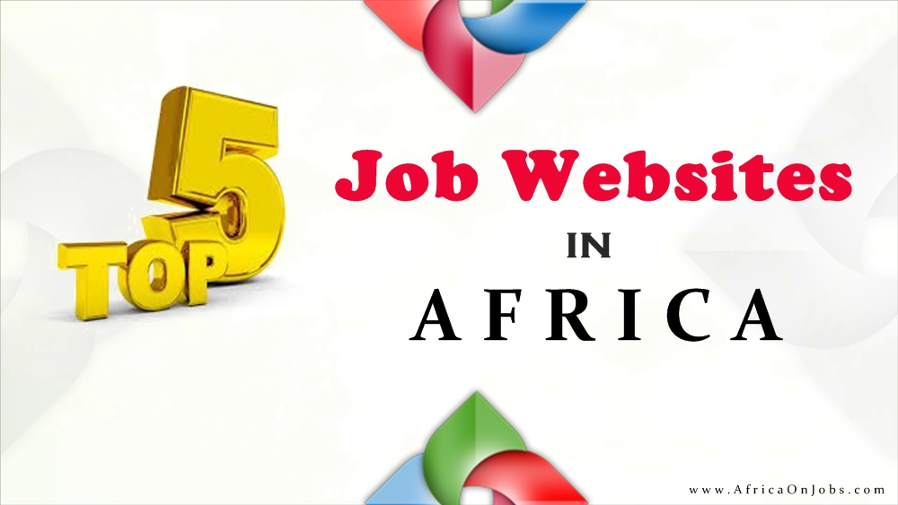 The five most searched job website in Africa