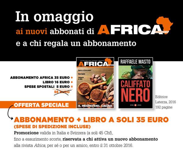 Promo Africa + Libro Masto settembre2016