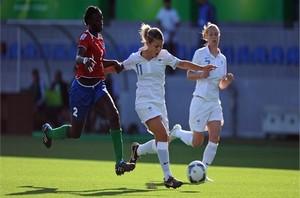 La Gambie perd  10-2