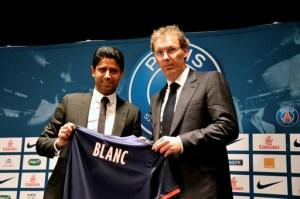 FOOTBALL : Presentation Laurent Blanc - Nouvel entraineur du Paris Saint Germain - 27/06/2013