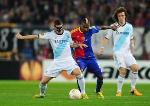 Soccer - UEFA Europa League - Semi Final - First Leg - FC Basel v Chelsea - St Jakob-Park