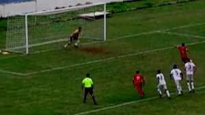 The worst penalty in the history of football - video